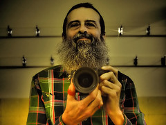 I Shot My Self (Rantz) Tags: australia australiancapitalterritory beardo beardsareawesome canberra dikaiosyne ofme rantz self selfportrait selfie acton au
