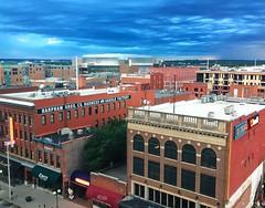 goodbye, Lincoln! (ekelly80) Tags: nebraska lincoln june2017 roadtrip keisgoesusa graduatehotel view hotel skyline haymarket sky clouds morning buildings historic