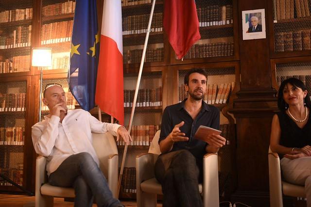 Conferenza stampa di apertura