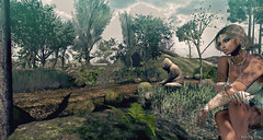 Invitation to travel : The OliveT club,  surrounded by nature ~ Little Branch inspiration ~ (Secoia Vita - Heion) Tags: little branch photospot shooting pictures club heion lolivet obscure relax night watch horde vita chill