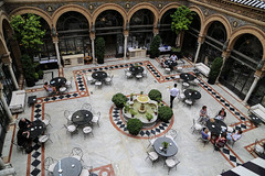 2017 SPM0203 Our hotel, Alfonso XIII hotel in Sevilla, Spain (teckman) Tags: 2017 europe hotel sevilla seville spain andalucía es
