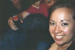 Nimp 2 (Justine Sla) Tags: party fête soirée night nimp toulouse bringue friends team nuit beer alcool alcohol smile rires memories souvenirs sandra bière selfie portrait argentique photo foto photographie pellicule pellicula film ricoh vintage