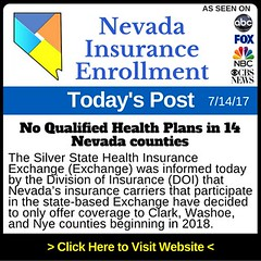 No Qualified Health Plans in 14 Nevada counties for 2018 (Nevada_Insurance_Enrollment) Tags: healthinsurance healthinsurancequotes healthinsuranceagent lasvegas nevada nevadahealthlink obamacare
