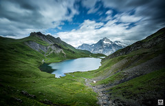 oberland (yves_matiegka) Tags: switzerland alps mountains landscape lake bernesealps berneroberland first bachalpsee schweiz