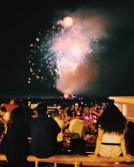 Another fourth of July shot. (basit960) Tags: vacation summer july excitement celebration night fireworks independenceday fourthofjuly july4 longisland jonesbeach newyork ny