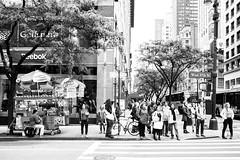 I love NY (Paolo Luppino 73) Tags: ny newyork travel people street urban jungle humans city blackandwhite biancoenero strada manhattan 35mm noir trafficlight crossroad pedestriancrossing