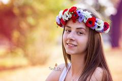 IMG_6971 (Galika_) Tags: teen girl long hair smile sunset sundown summer wreath flower portret memory natural naturallight white green canon 6d 85mm 8518 bulgaria