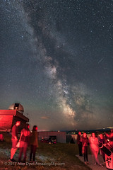 The Summer Milky Way from Rothney Observatory (Amazing Sky Photography) Tags: darkhorse july m6 m7 milkyway observers rao rasc rothneyobservatory sagittarius saturn summer outreach stargazing