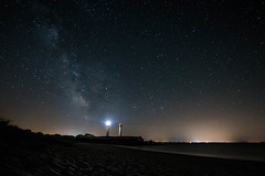 Ciel étoilé sur l'ile d'Aix. (johann michel) Tags: ciel etoilé ile daix lactée voie sky light star