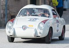 Mille Miglia, Gubbio 2017 (MikePScott) Tags: abarth750gtzagato camera car events fiat gubbio italia italy millemiglia nikon28300mmf3556 nikond600 transport umbria