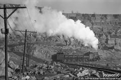 2014/1/18 JS8077 Sandaoling (Pocahontas®) Tags: js8077 steam engine locomotive loco railroad railway rail train film 135film