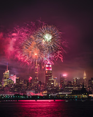 NYC 4th of July 2017 (adrien.photography) Tags: 500px night fireworks new jersey liberty state park york 4th july natural filter