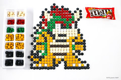M&M Mosaic -Bowser Nintendo (Kitslams Art) Tags: nintendo mm mosaic pixel art nes snes 8bit gamers video games mandm mosaics pixelart toad shyguy mushroom samus aran megaman mega man bowser boo baby mario super bros mosaicart mosaicartist mmmosaic rubikscubemosaic artwithitems artwithcandy artwithmms artwithrubikscubes rubikscubeart rubiksart mosaicdrawing drawingmosaic kitslamsart kitslam videogameart videogameartist videogamepixelart 8bitart 8bitartist nintendoart nintendoartist nintendopixel snesart nesart marioart marioartwork mariobrosart
