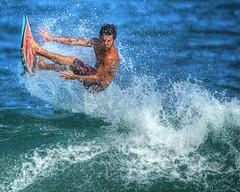 Kealia surf 004 (mannyh808) Tags: surf surfer surfing kealia kauai hawaii waves ocean gardenisland eastside