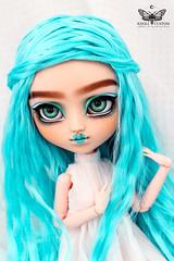Order_AtelierDuPapillonDeNuit_KDC_Nico_5 (Kikyô) Tags: pullip blue doll 16 sourcils faceup kikyo kdoll custom atelier papillon nuit ooak makeup cute repaint modern