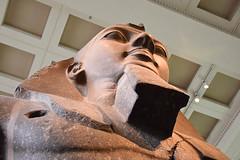 Looking Up At Ramses, British Museum (meg21210) Tags: ramses museum statue sculpture ancient ramsesii huge grandscale egypt egyptian pharaoh bm britishmuseum london england uk greatbritain massive lookingup art