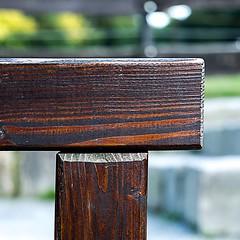 Balken 1 (fsc9090) Tags: balken timber wood holz braun brown t square 1x1 5x5 fujifilm fujifilmxt2 fuji forrest 2017 juli july freitag friday sommer summer bokeh licht light