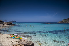 CALA COMTE (maina_e) Tags: ibiza eivissa spagna baleares sea water amazing caraibi summer island nature beauty beach sand travel destination espana color blue mare