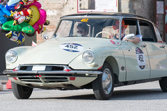 Mille Miglia, Gubbio 2017 (MikePScott) Tags: camera car citroen ds19 events gubbio italia italy millemiglia nikon28300mmf3556 nikond600 transport umbria