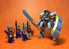 Lord's Armor-01 (ToyForce 120) Tags: lego robot robots mecha mech mechanic legomech legomoc