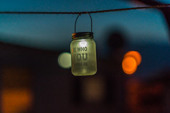 Solar Lamp (frankwinkler1969) Tags: zeeland holland niederlande nordsee osterschelde meer camping anna friso lampe nacht dukel