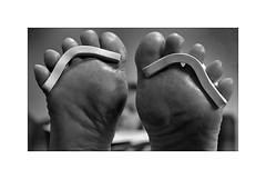 Pamper ! (CJS*64) Tags: feet pamper nikon nikkorlens nikond7000 24mm85mmlens nikkor cjs64 craigsunter craig toes blackwhite bw blackandwhite whiteblack whiteandblack mono monochrome