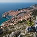 Dubrovnik vista de cima