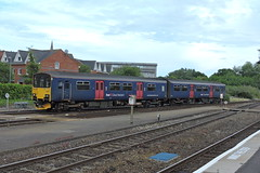 150104 (mike_j's photos) Tags: exeter greatwestern railway gwr dmu class150 150104