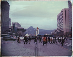 세종대로사거리 (○□○) Tags: polaroid polaroid195 type669 seoul korea 폴라로이드