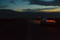 Drive (dannyone) Tags: deathvalley usa ca dark sky neon lights sunset highway road myroadtripamerica dannyone dodge durango suv spring np nationalpark car us mk2 5d taldestodes uscar