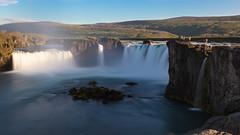 Goðafoss (Role Bigler) Tags: canoneos5dsr ef401635lisusm godafoss iceland island landschaft langzeitaufnahme longexposure natur nature schweiz wasserfall foss landscape manfrotto water waterfall spray gischt