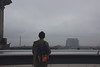 Cillian on the Reichstag (iannuccisarah) Tags: reichstag building berlin germany guy boy silhouette view overlook sky cloudy moody