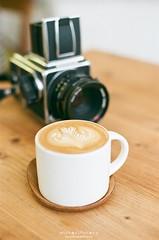 Soul Searching ([M!chael]) Tags: nikon f3hp nikkor fujifilm superia400 xtra400 expired film manual coffee cafe hasselblad 5014 ai
