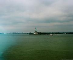 A Walk Around Governors Island (GPhace) Tags: 120mm filmphotography governorsisland mamiya mediumformat nyc newyorkharbor rb67pros statueofliberty summer2017 cityscape cloudyday manualcamera newyork unitedstates analog photography