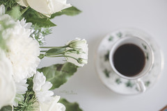 Coffee & flowers _ the backstage _ week 31/52 (pierfrancescacasadio) Tags: caffè luglio2017 rosa 31072017840a2354 50mm coffee flowers rose