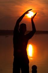 IMG_4166 (d_propp) Tags: elkislandnationalpark astotin lake astotinlake sunset sun sky water summer
