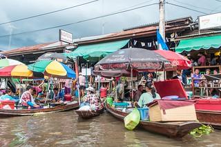 marché flottant amphawa - thailande 34