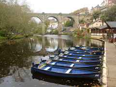 14 0741m - River Nidd and viaduct, Knaresborough