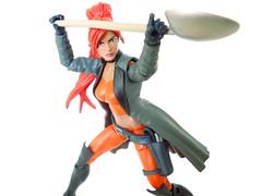Marvel Legends Elsa Bloodstone (Homicide_Crabs) Tags: sdcc rock marvel legends elsa bloodstone nextwave with shovel aforce
