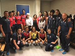 "Equipo voleibol femenino de República Dominicana en Holanda • <a style=""font-size:0.8em;"" href=""http://www.flickr.com/photos/143921865@N05/35035511294/"" target=""_blank"">View on Flickr</a>"