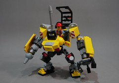 constmech02 (chubbybots) Tags: lego mech construction