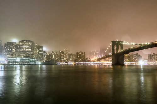 Gloomy Night in Brooklyn