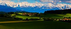 Gurten_DSC3264 (Mel Gray) Tags: berne bern switzerland scenic alps mountains snowcapped