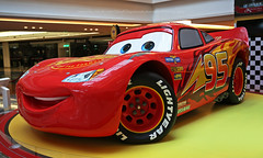 Lightning McQueen, Hong Kong (Daryl Chapman Photography) Tags: lightningmcqueen cars cars3 movie cartoon 5d mkiii 2470mm pixar racecar film hongkong china sar