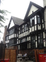 [52324] Leeds : St John's House (Budby) Tags: leeds westyorkshire 20thcentury timbered blackwhite