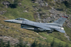 USAF F-16C 480th FS 'Warhawks' (Tom Dean.) Tags: spangdahlem air base germany wales 52d fighter wing mach loop bluebell nikon d810 aviation low level 500 feet 500mm 480th weasel squadron call sign f16 f16c viper falcon summer 2017