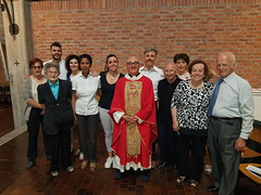 """04.06.2017 S.Messe di Pentecoste con Padre Jawad parroco a Tunisi - Dopo la Messa delle 10-30 in Oratorio rinfresco-incontro_2 • <a style=""""font-size:0.8em;"""" href=""""http://www.flickr.com/photos/82334474@N06/35135335923/"""" target=""""_blank"""">View on Flickr</a>"""