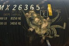 RELISH TODAY (2013) (TheGraffitiHunters) Tags: graffiti graff moniker streak markal freight train tracks benching benched tanker relish today 2013 13
