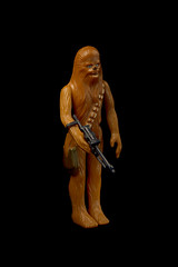 Chewbacca (Peter Grusel - SW Photographs) Tags: starwars wookie vintage actionfigure anewhope han copilot