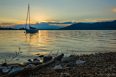 Morning at Attersee (Austria) (Norbert Helbig) Tags: nikon d7200 world travel europa europe österreich austria attersee see wasser morgen sonnenaufgang lake sunrise himmel